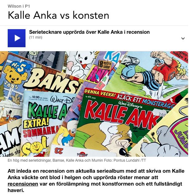 Kalle Anka Vs. KONSTEN