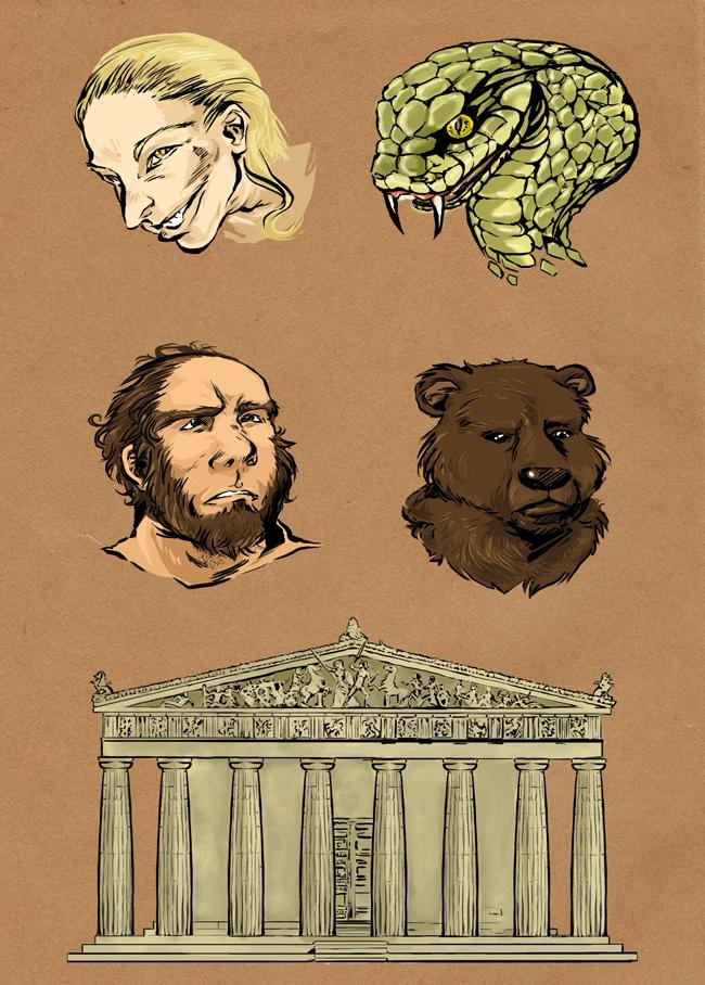 I Teckna mera manga (av Esbjörn Jorsäter & Kwok-Hei Mak, Bonnier Carlsen förlag 2008) bidrog jag med illustrationer samt ett uppslag med teckningsövningar.